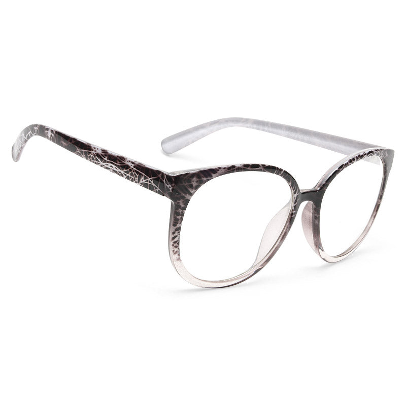 Brittney Spears Style Unisex Rounded Celebrity Clear Glasses