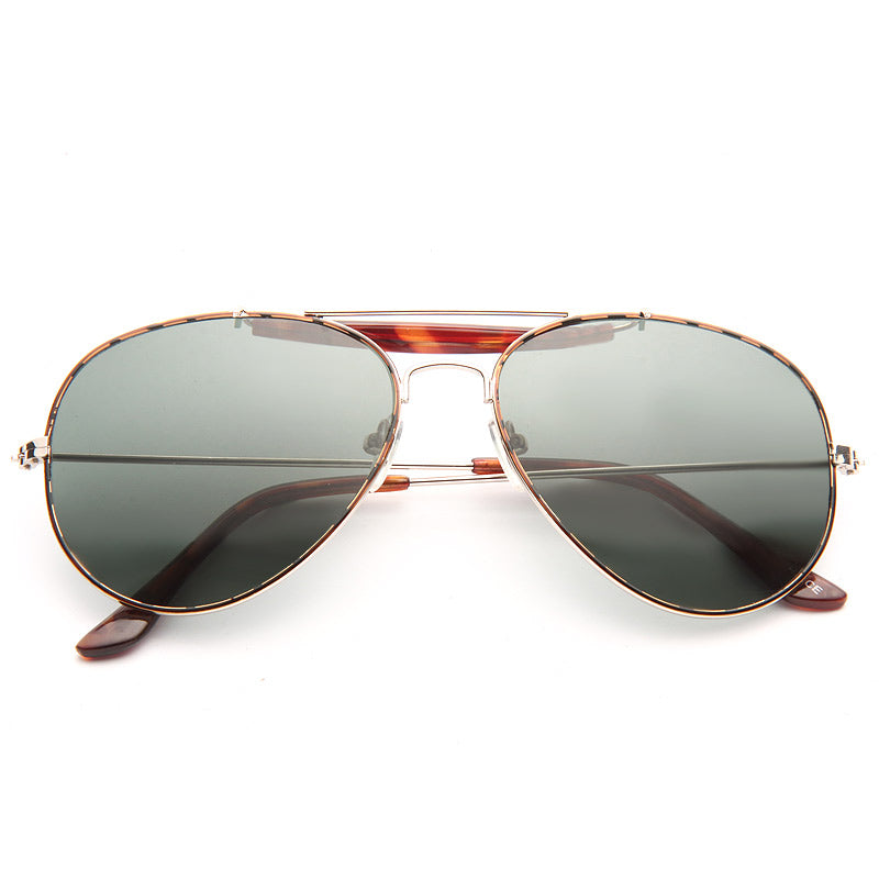 Outdoorsman Classic 56Mm Solid Aviator Sunglasses