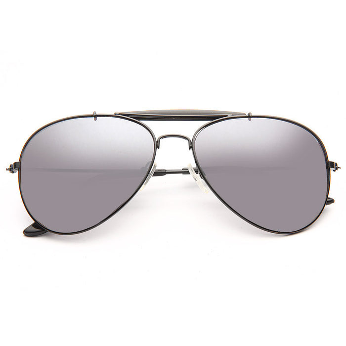 Outdoorsman Classic 56Mm Light Mirror Aviator Sunglasses