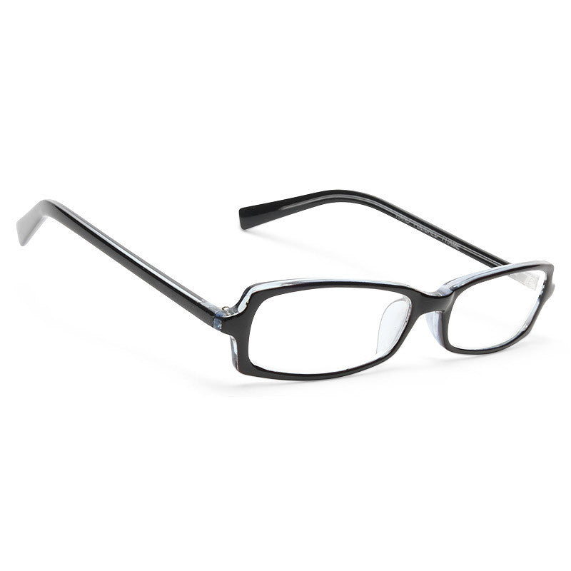 Venice Squared Skinny Clear Glasses