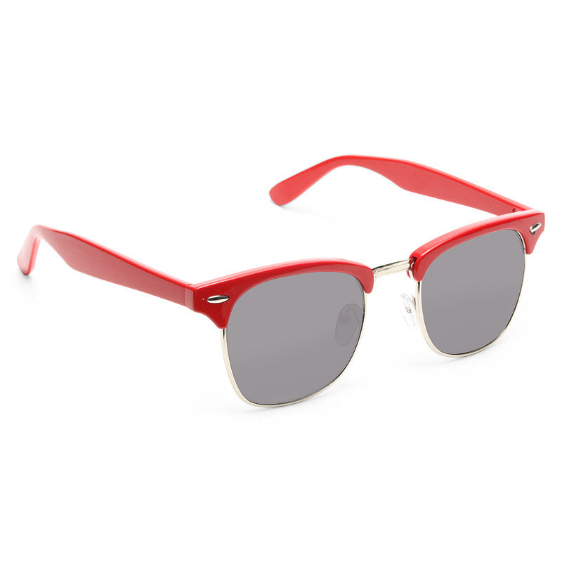 Peyton Colorful Half-Frame Sunglasses