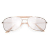Outdoorsman Sun Sensor Clear Aviator Glasses