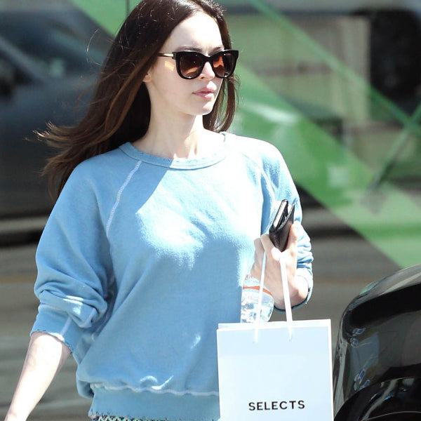 Megan Fox Style Retro Rounded Celebrity Sunglasses
