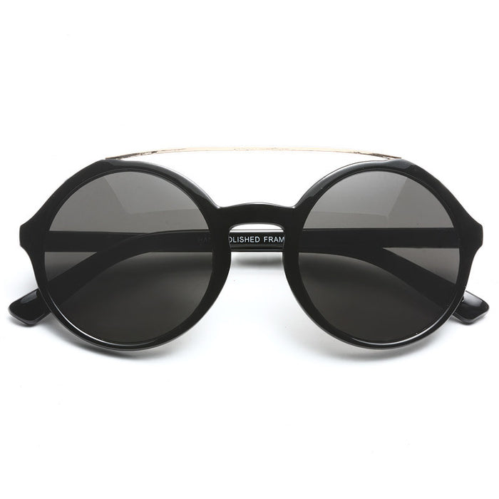 Nova Oversized Round Sunglasses