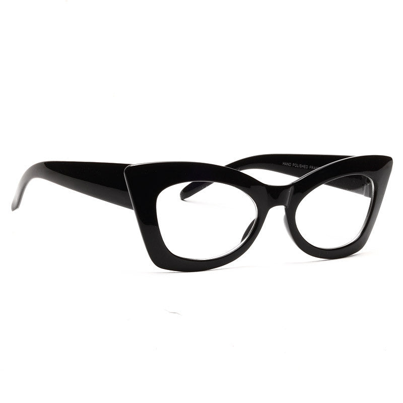 Kylie Sharp Cat Eye Clear Glasses