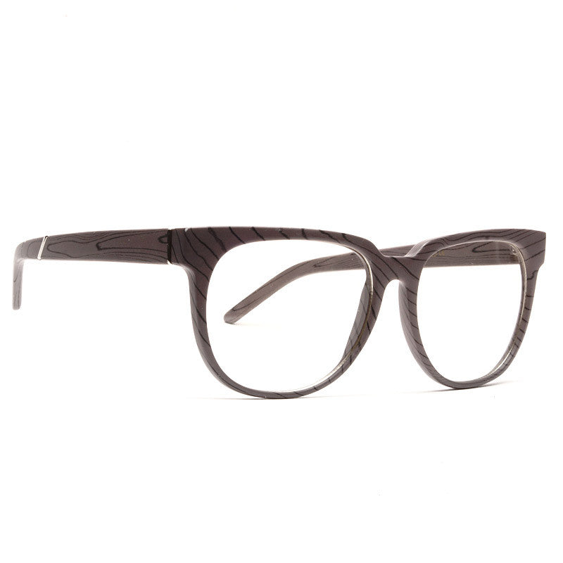 Sydney Wood Grain Clear Glasses