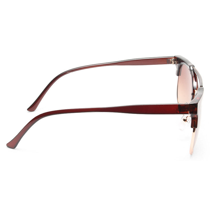 Darrin Thin Bar Flat Top Sunglasses