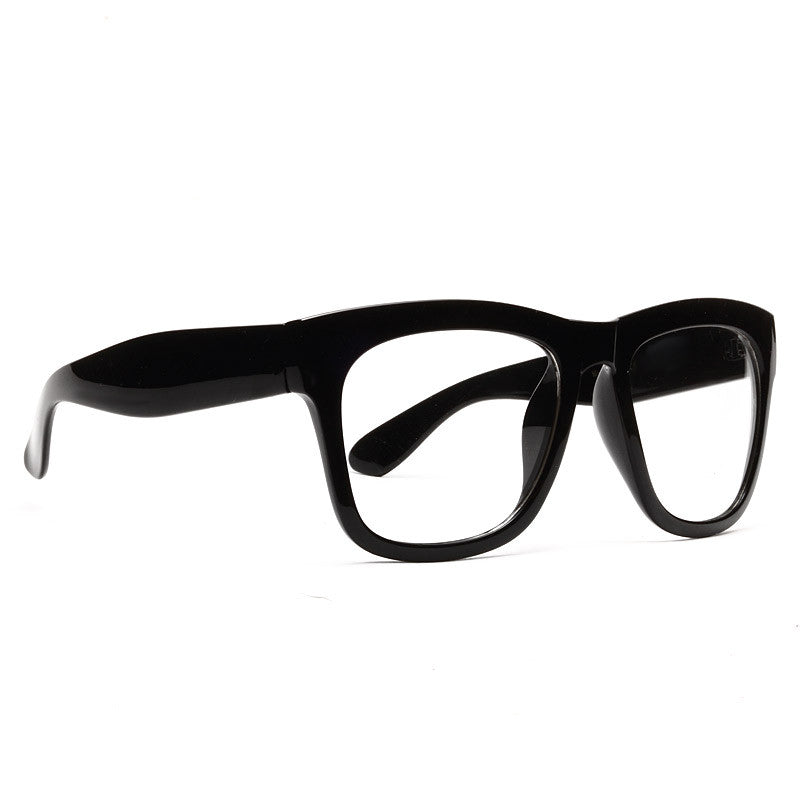 Jaylen Thick Clear Horn Rimmed Glasses