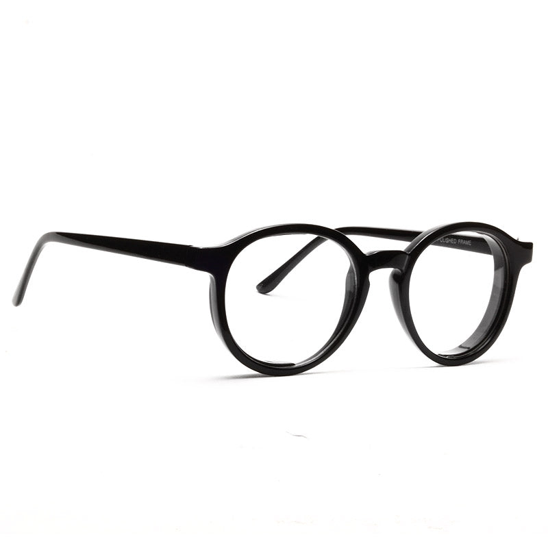 Bingham Unisex Rounded Clear Glasses