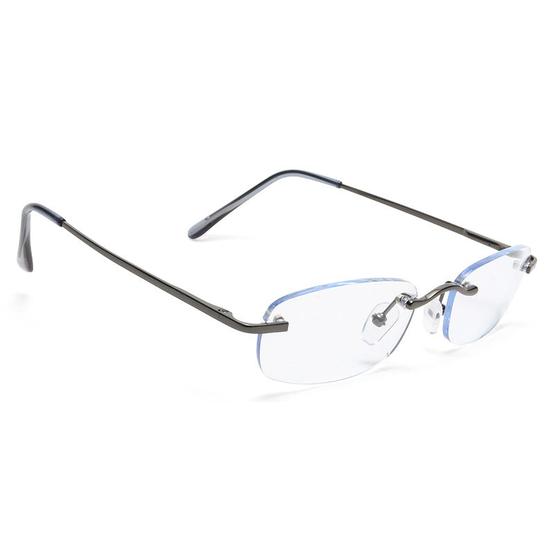 Sarah Palin Rimless Rectangular Clear Glasses