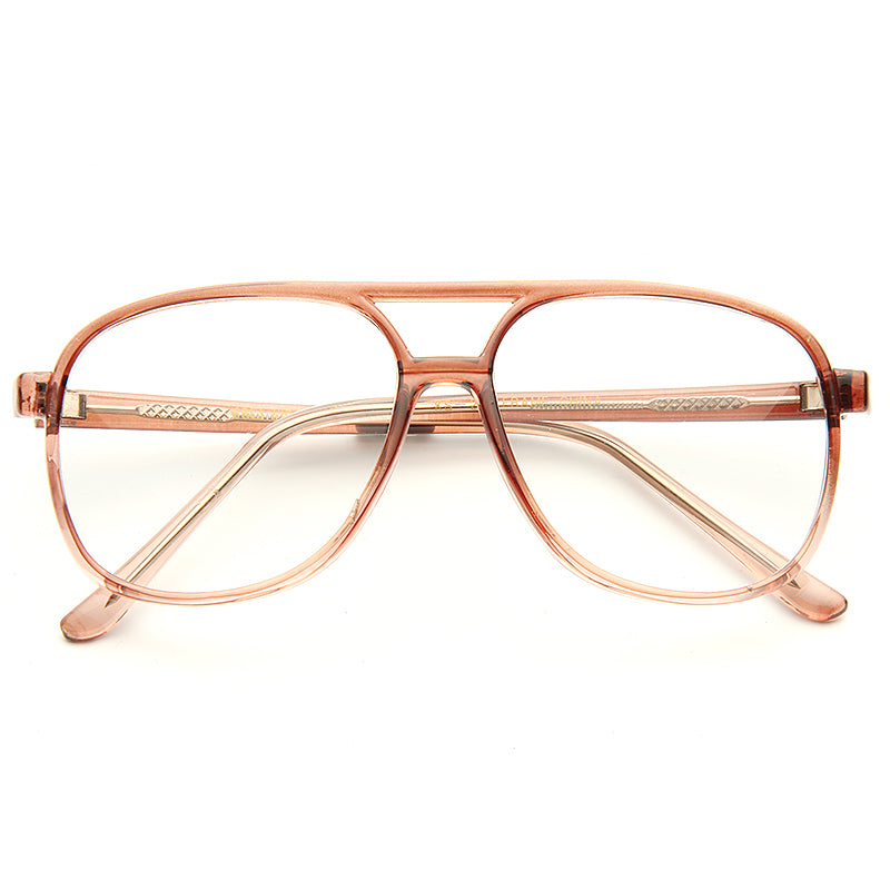 Kip Napoleon Dynamite Clear Aviator Glasses