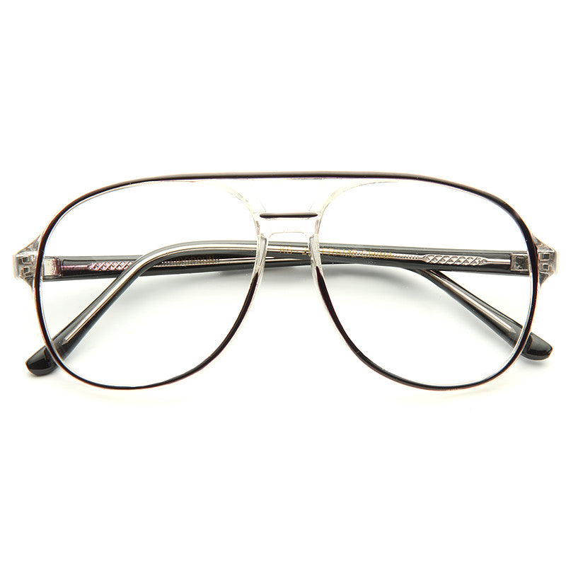 Walker Vintage Clear Aviator Glasses