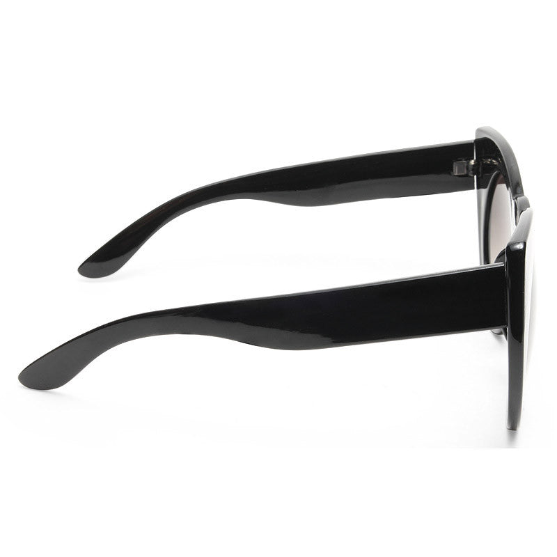 Queenie Oversized Rounded Cat Eye Sunglasses