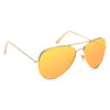 Cara Delevingne Style Classic 60Mm Color Mirror Aviator Celebrity Sunglasses