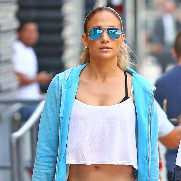 Jennifer Lopez Style Classic 60Mm Color Mirror Aviator Celebrity Sunglasses