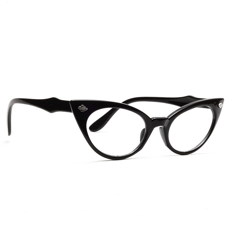 Hayworth Sharp Point Cat Eye Clear Glasses