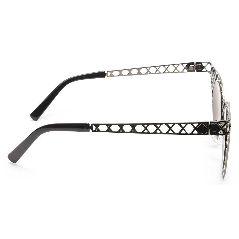 Cagefighter Designer Inspired Metal Lattice Mod Sunglasses