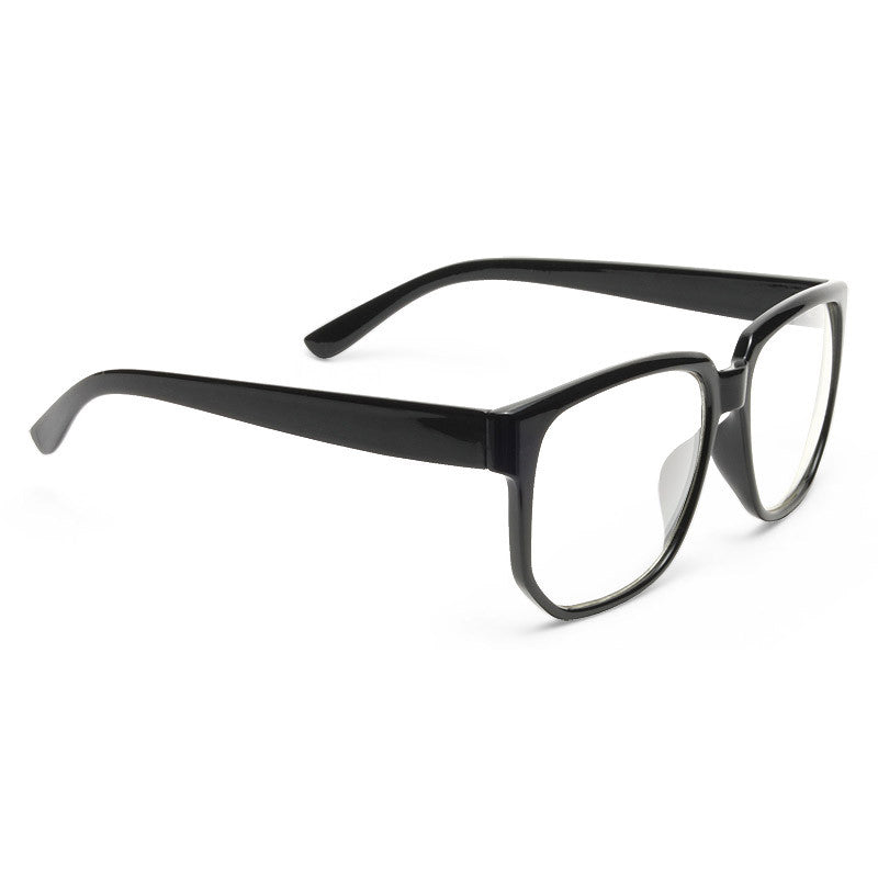 Sela Thin Frame Clear Horn Rimmed Glasses