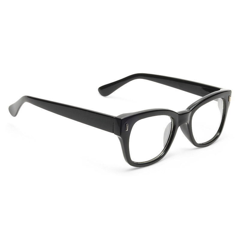 Austin Powers Horn Rimmed Clear Glasses