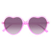 Ashley Tisdale Style Plastic Heart Celebrity Sunglasses
