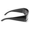 Flat Out Futuristic Curved Sunglasses