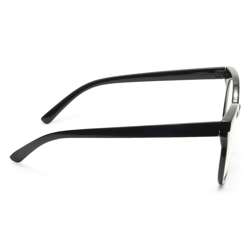 Kosha Oversized Designer Inspired Rounded Clear Glasses