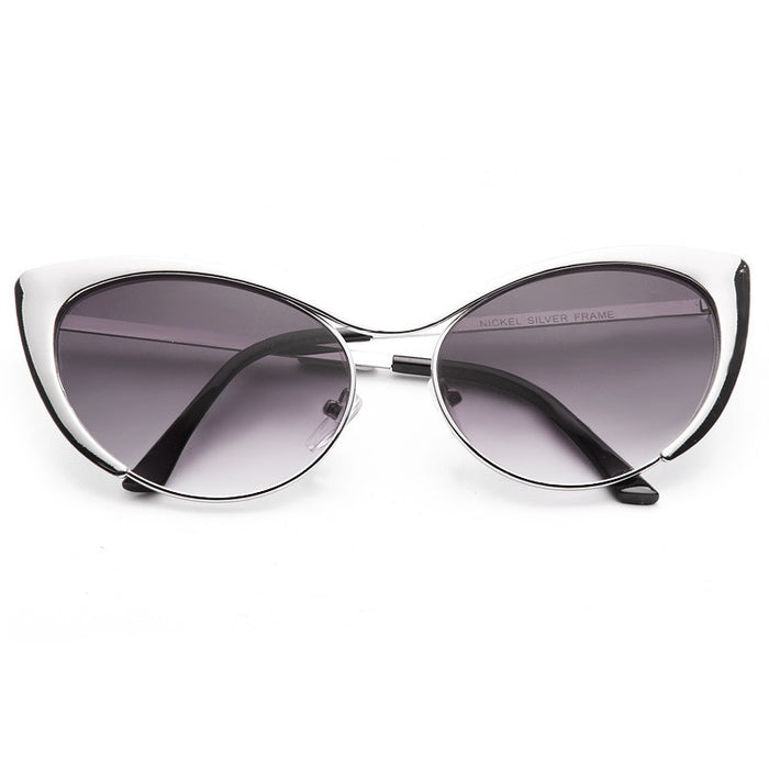 Nastasya Designer Inspired Cat Eye Sunglasses