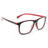 Carey Two Tone Clear Horn Rimmed Glasses