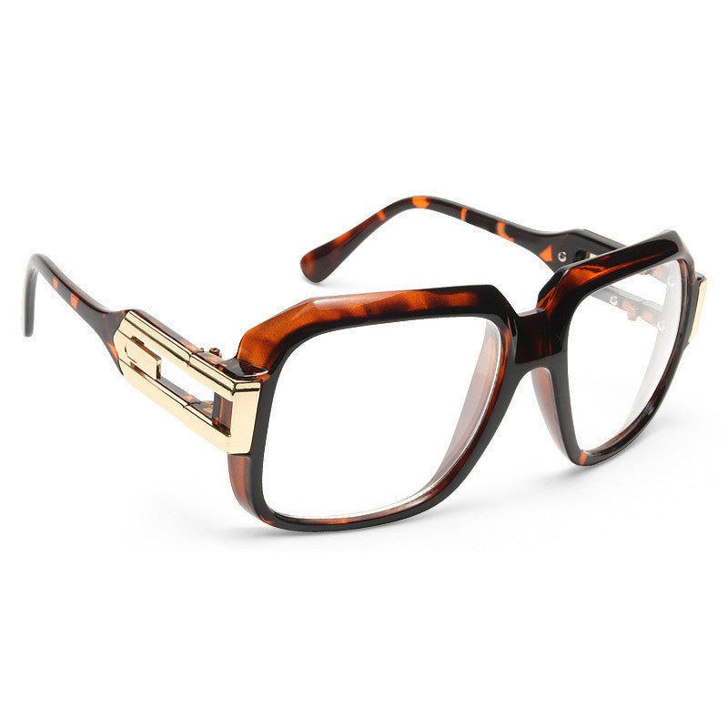 Harry 4 Oversized Square Clear Glasses