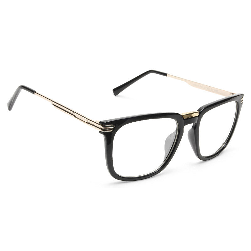 Carlin Unisex Clear Horn Rimmed Glasses