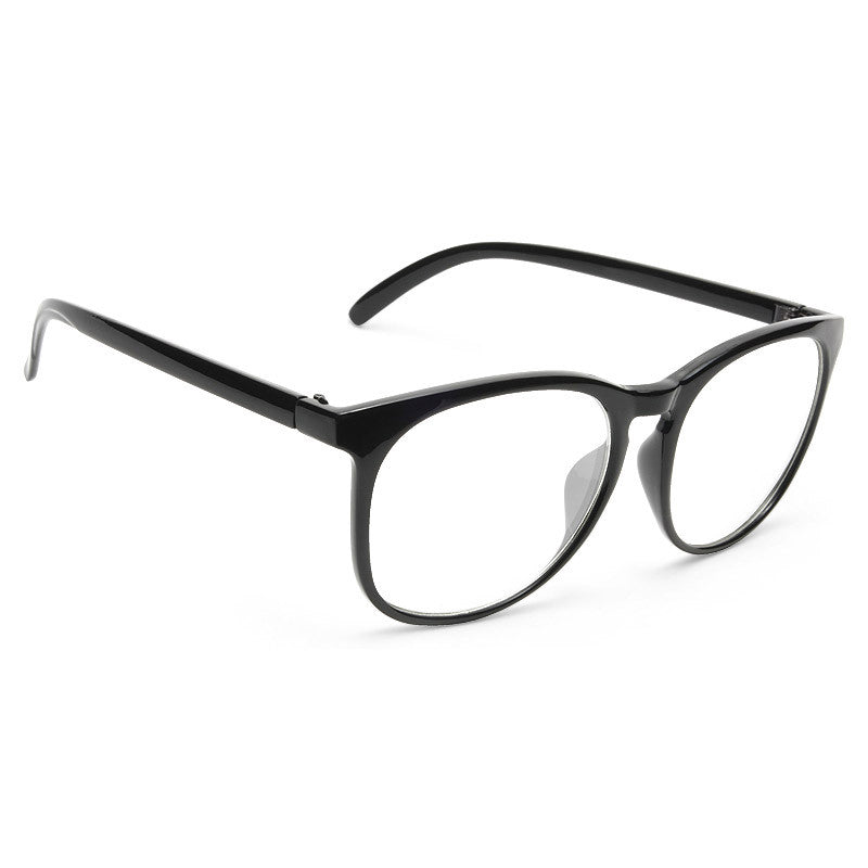 Brogan Unisex Rounded Clear Glasses