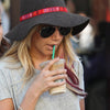 Ashley Tisdale Style 60Mm Solid Lens Aviator Sunglasses