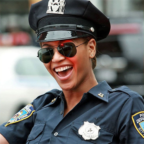 Halloween Sexy Cop Police Officer Aviator Sunglasses