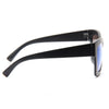 Patrick Unisex Color Mirror Thick Frame Horn Rimmed Sunglasses