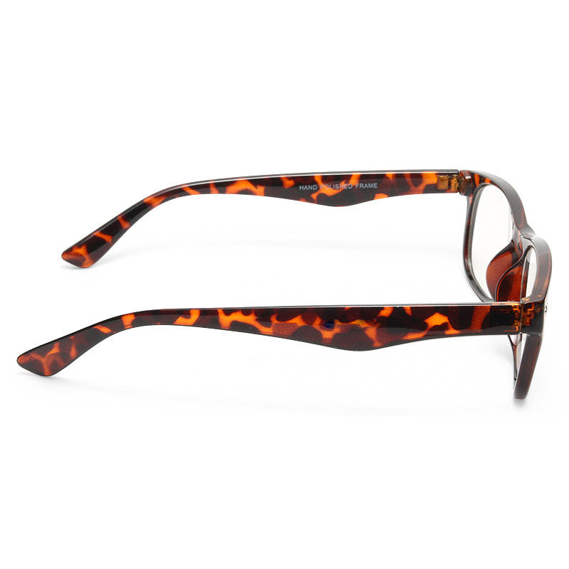 Bryce Skinny Clear Glasses