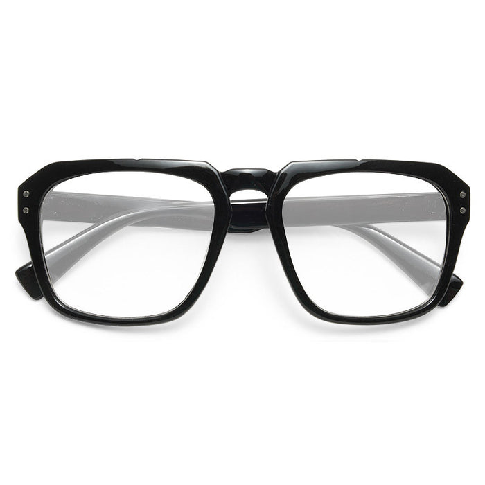 Avery Unisex Flat Top Clear Glasses