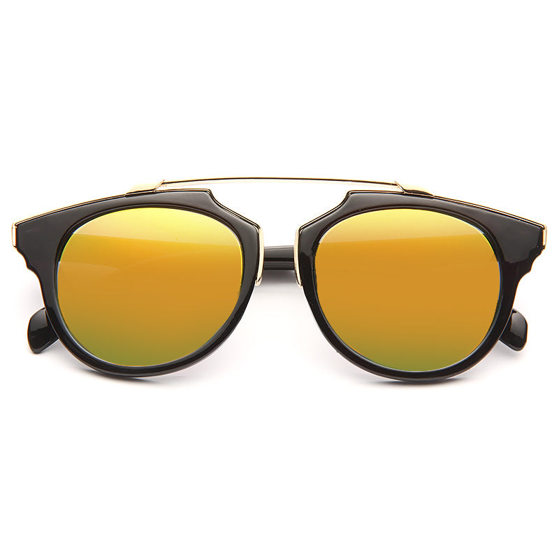 So Real Thin Bar Flat Top Sunglasses