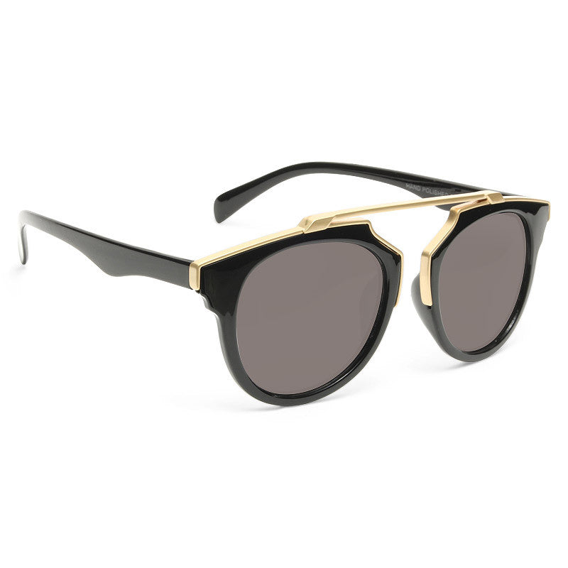 Kris Jenner Style Thin Bar Flat Top  Celebrity Sunglasses