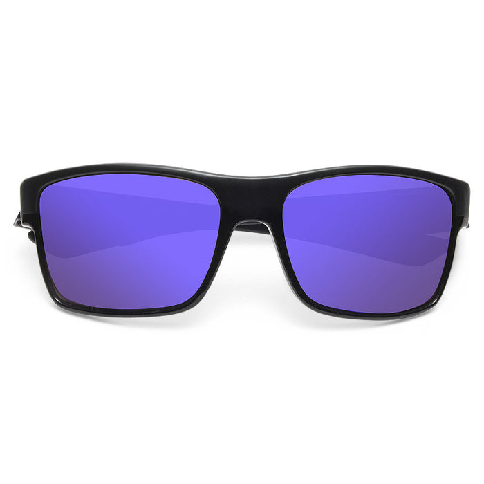 Rylan Unisex Color Mirror Horn Rimmed Sunglasses