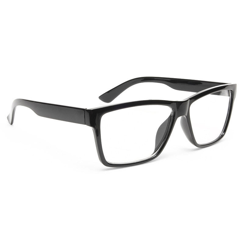 Perry Unisex Clear Horn Rimmed Glasses