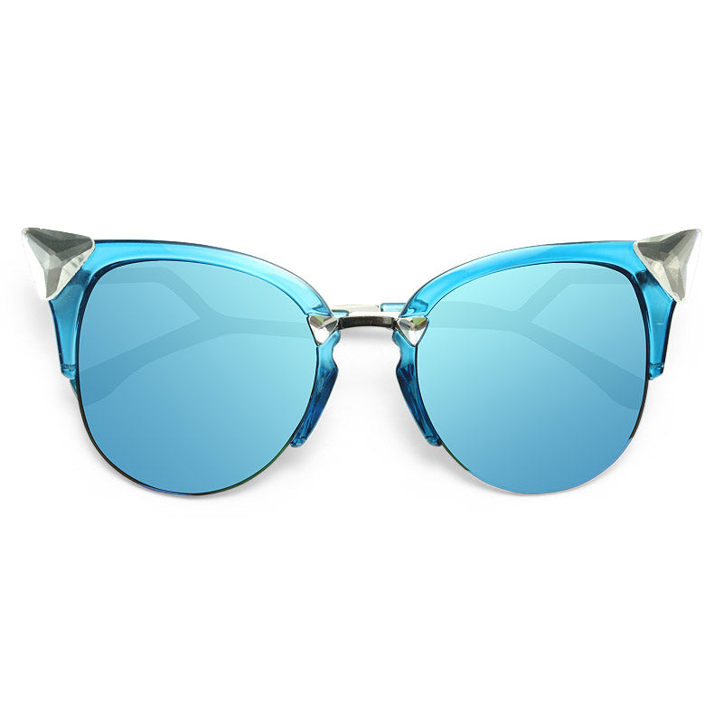 Cara Delevingne Crystal Cat Eye Celebrity Sunglasses