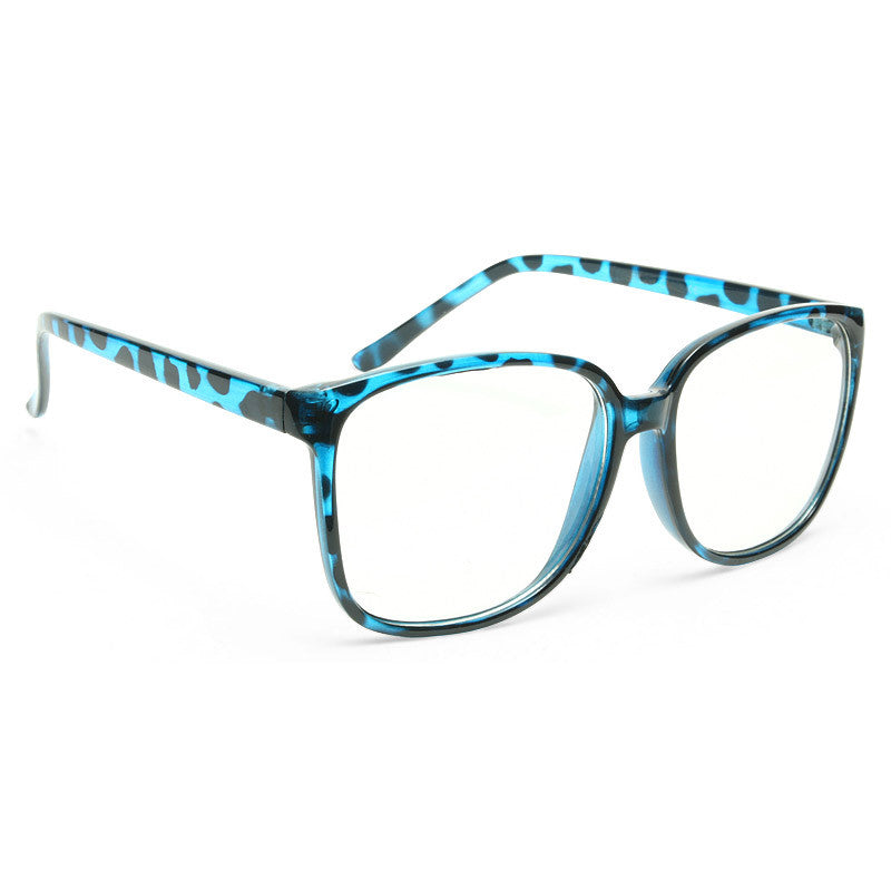 Maxwell Thin Frame Clear Horn Rimmed Glasses