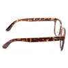 Rock Designer Inspired Unisex Clear Horn Rimmed Glasses