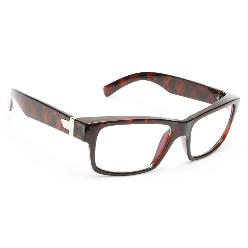 Corey Unisex Clear Horn Rimmed Computer Glasses