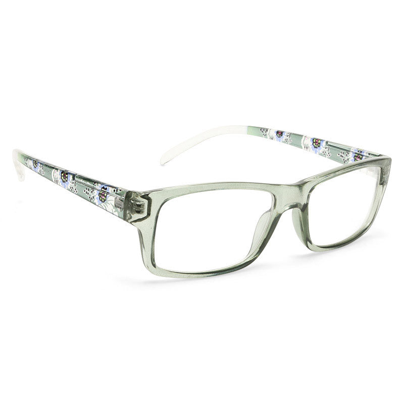 Aubrey Rectangular Clear Glasses