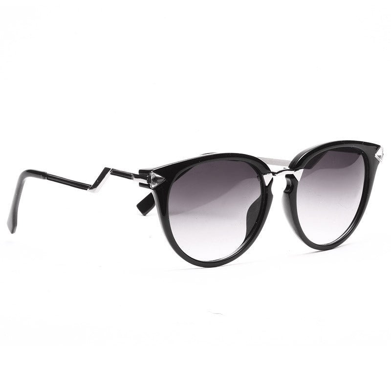 Iridia 2 Designer Inspired Crystal Cat Eye Sunglasses