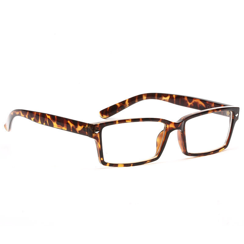 Daryl Slim Rectangular Clear Glasses