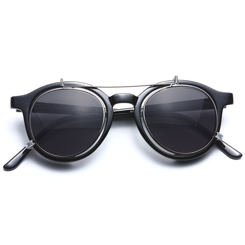894d1a4db9 Bailey Unisex Convertible Rounded Sunglasses