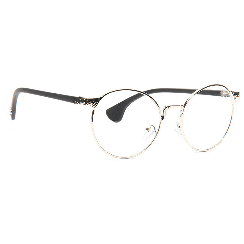 Remington Thin Round Clear Glasses