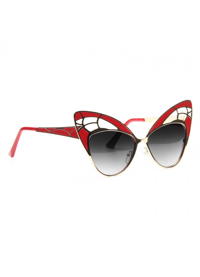 Skipper Oversized Butterfly Wing Sunglasses
